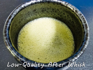 Low_Quality Matcha after whisk