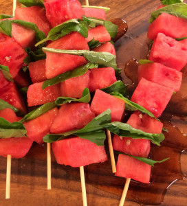 Watermelon Skewers - The Alexis Show