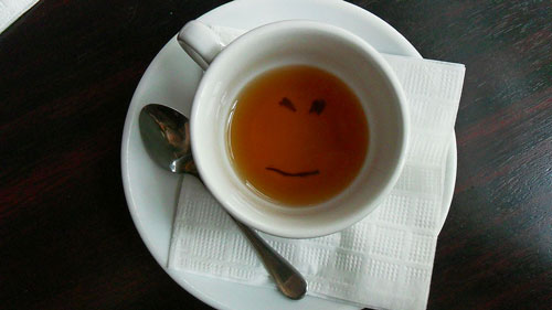 smile in tea