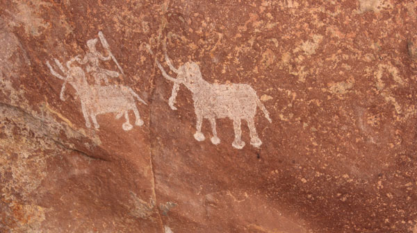 Elephant Cave Painting