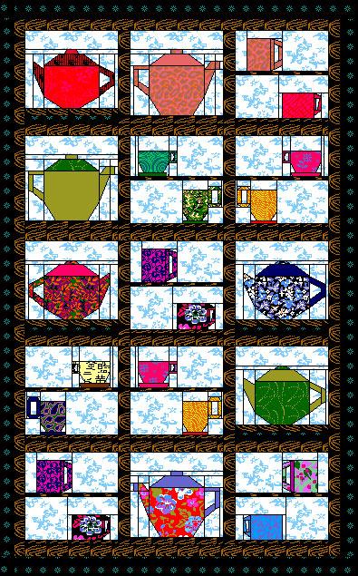 tea cup quilt pattern