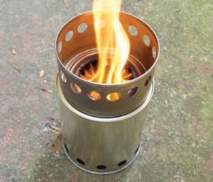 Hexi-burner