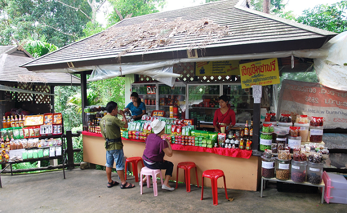 Doi_Tung Hilltribe_Market_Tea_Shop_1