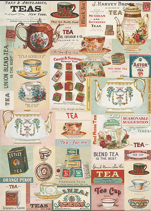 Tea wrapping paper
