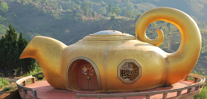 Thailand Tea monument