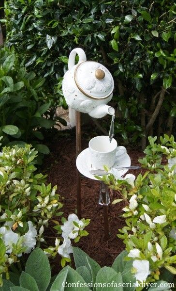 teapot fountain on Pinterest