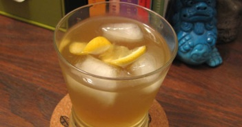 Citrus Lavender Green Tea Rickey