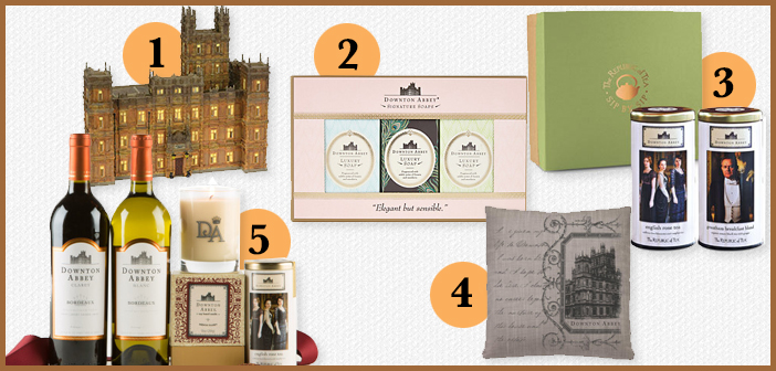 Handpicked: Downton Abbey Gifts