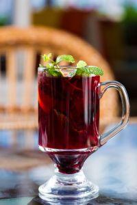 Blackberry Tea, Iced