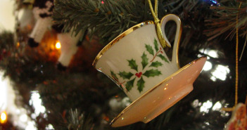 Christmas Tea Cup by Ruth