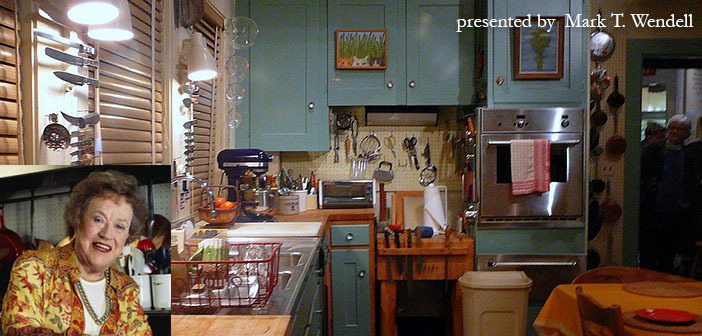 Julia Child's Kitchen by F Deventhal