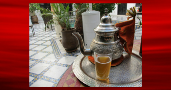 Tea in Morocco