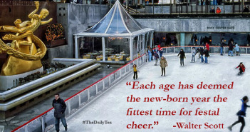 Rockefeller Park Skating Each age has deemed the new-born year the fittest time for festal cheer. Walter Scott