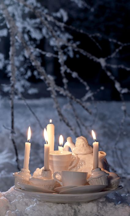 Winter tea party set