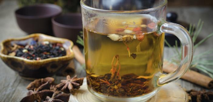Recipe: Green Tea Infused Chocolate Rocky Road Tea Bark