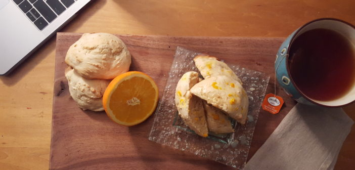 Vegan Orange Pekoe Tea Scones