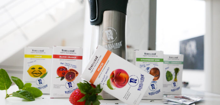RebelliouS Beverage Company: Introducing  Pre-brewed, on-the-go Green Tea