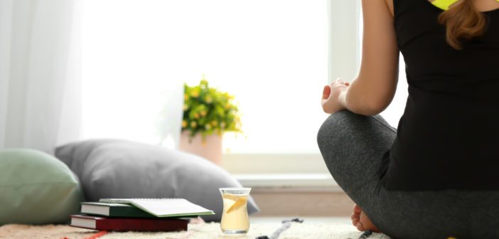 Stress Less with Yoga, Meditation, and Herbal Tea
