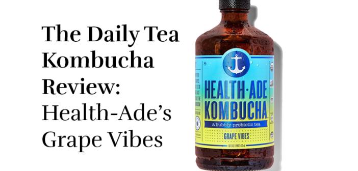 Review: Health-Ade Kombucha's Grape Vibes
